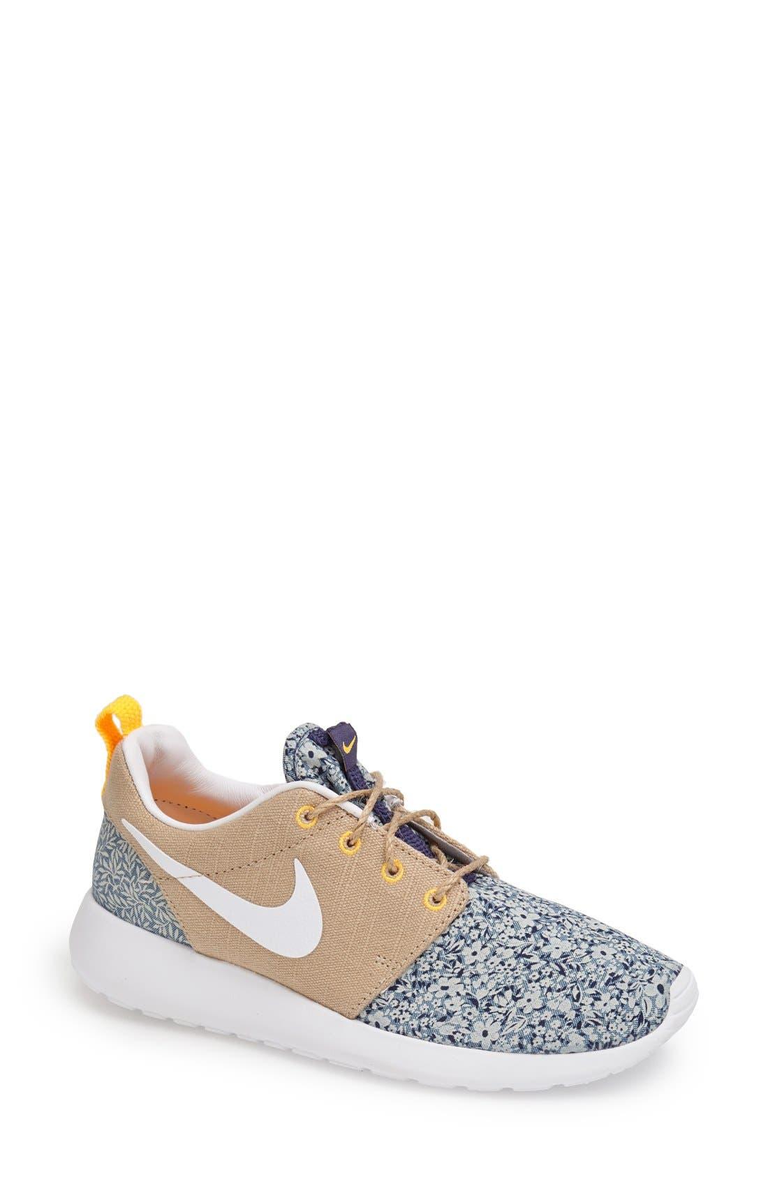 Alternate Image 1 Selected - Nike 'Roshe Run - Liberty' Sneaker (Women)
