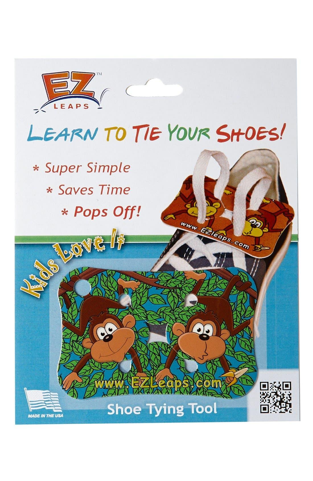 Alternate Image 1 Selected - EZ Leaps 'Monkeys in Leaves' Shoe Tying Tool