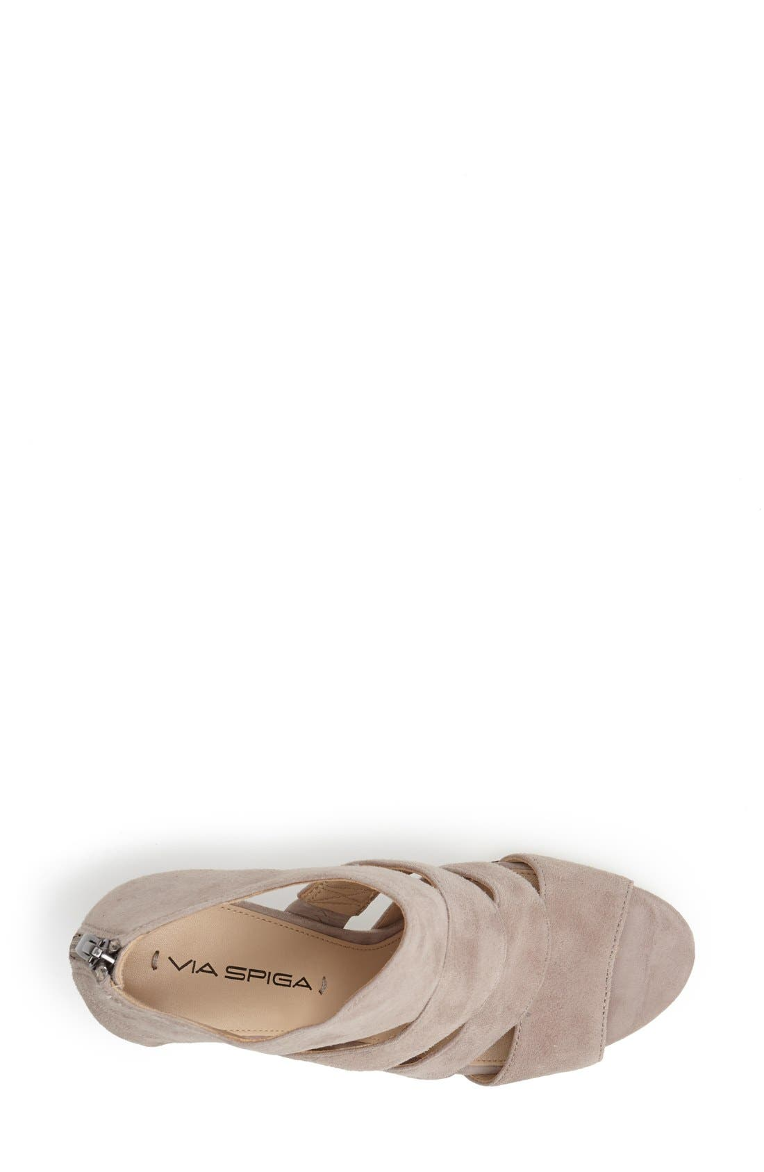 Alternate Image 4  - Via Spiga 'Fion' Wedge Sandal (Women)