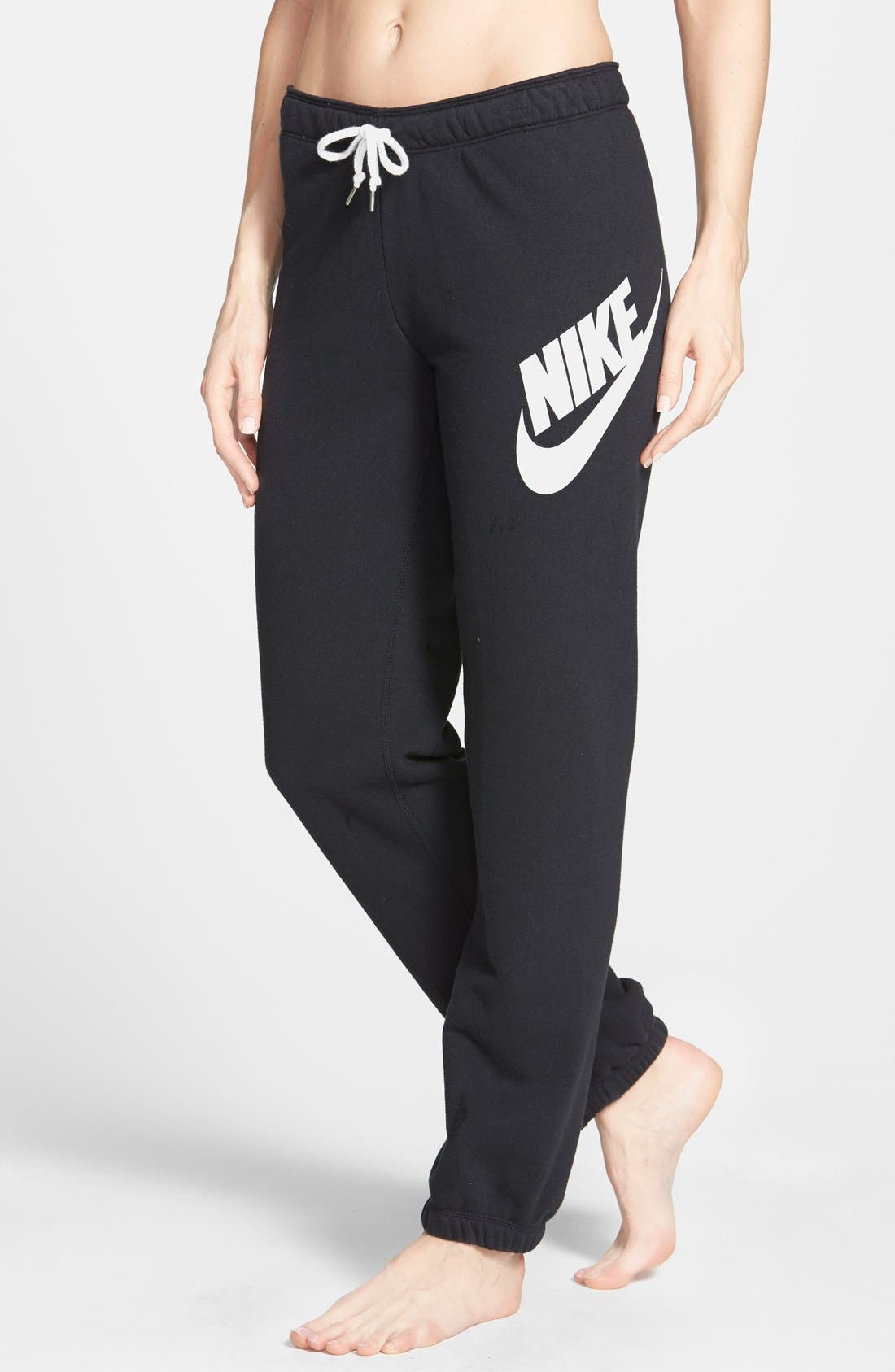 Alternate Image 1 Selected - Nike 'Rally' French Terry Sweatpants