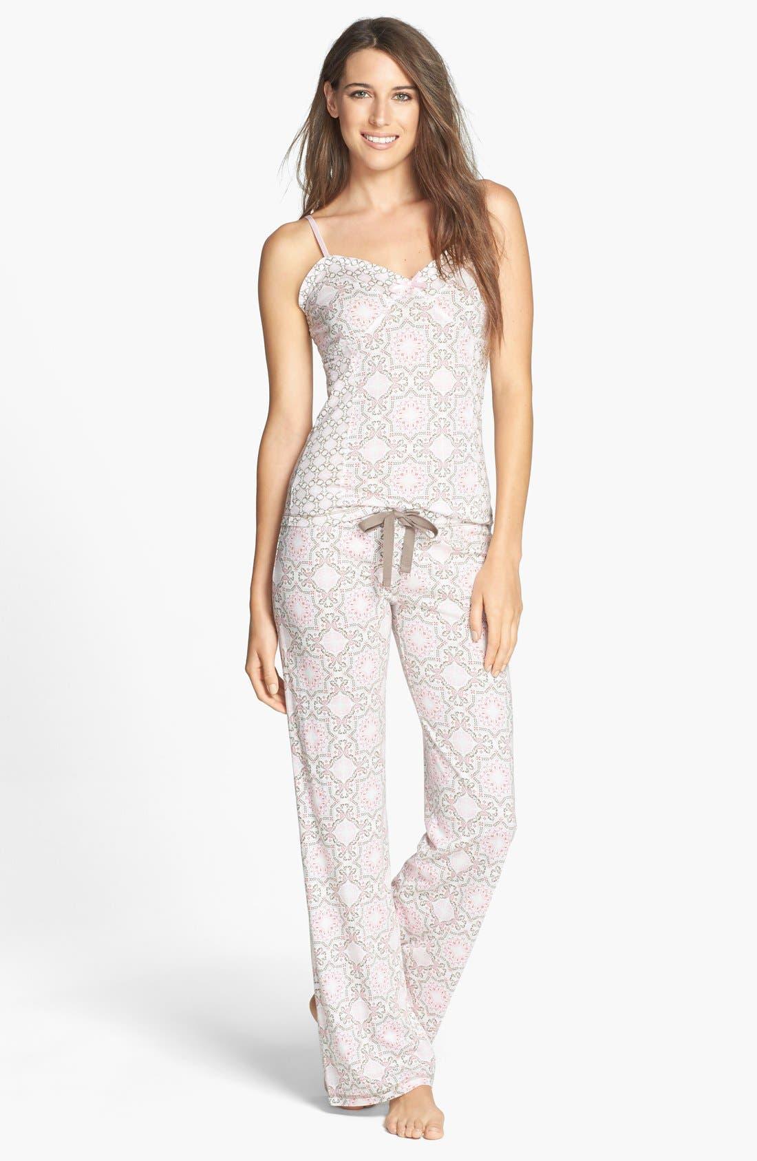 Alternate Image 3  - PJ Salvage 'Print Princess' Jersey Pants