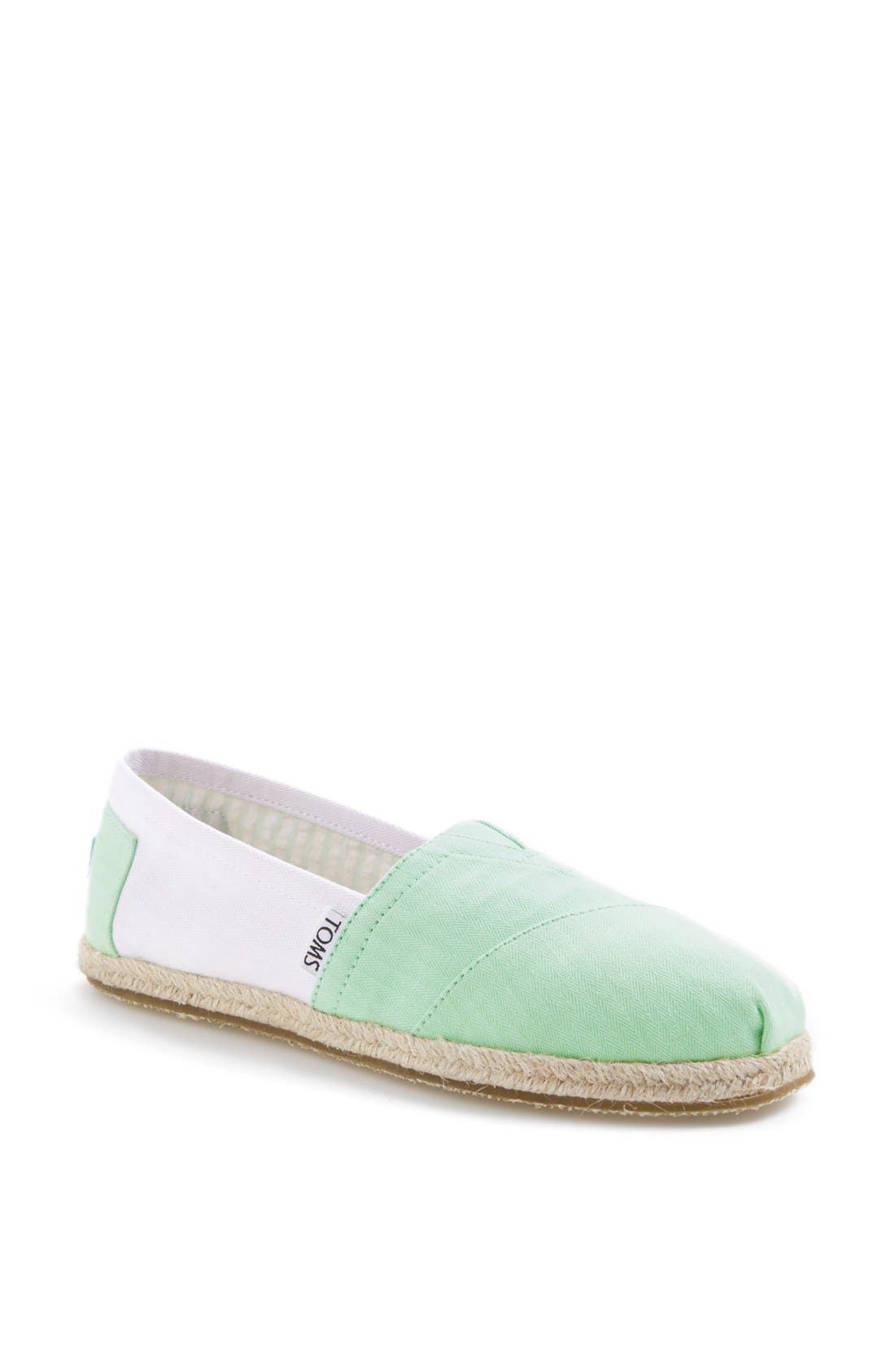 Alternate Image 1 Selected - TOMS 'Classic - Colorblock' Slip-On (Women)