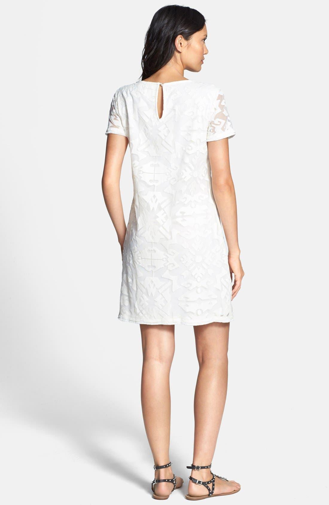 Alternate Image 2  - Ella Moss 'Talitha' Geo Burnout Shift Dress