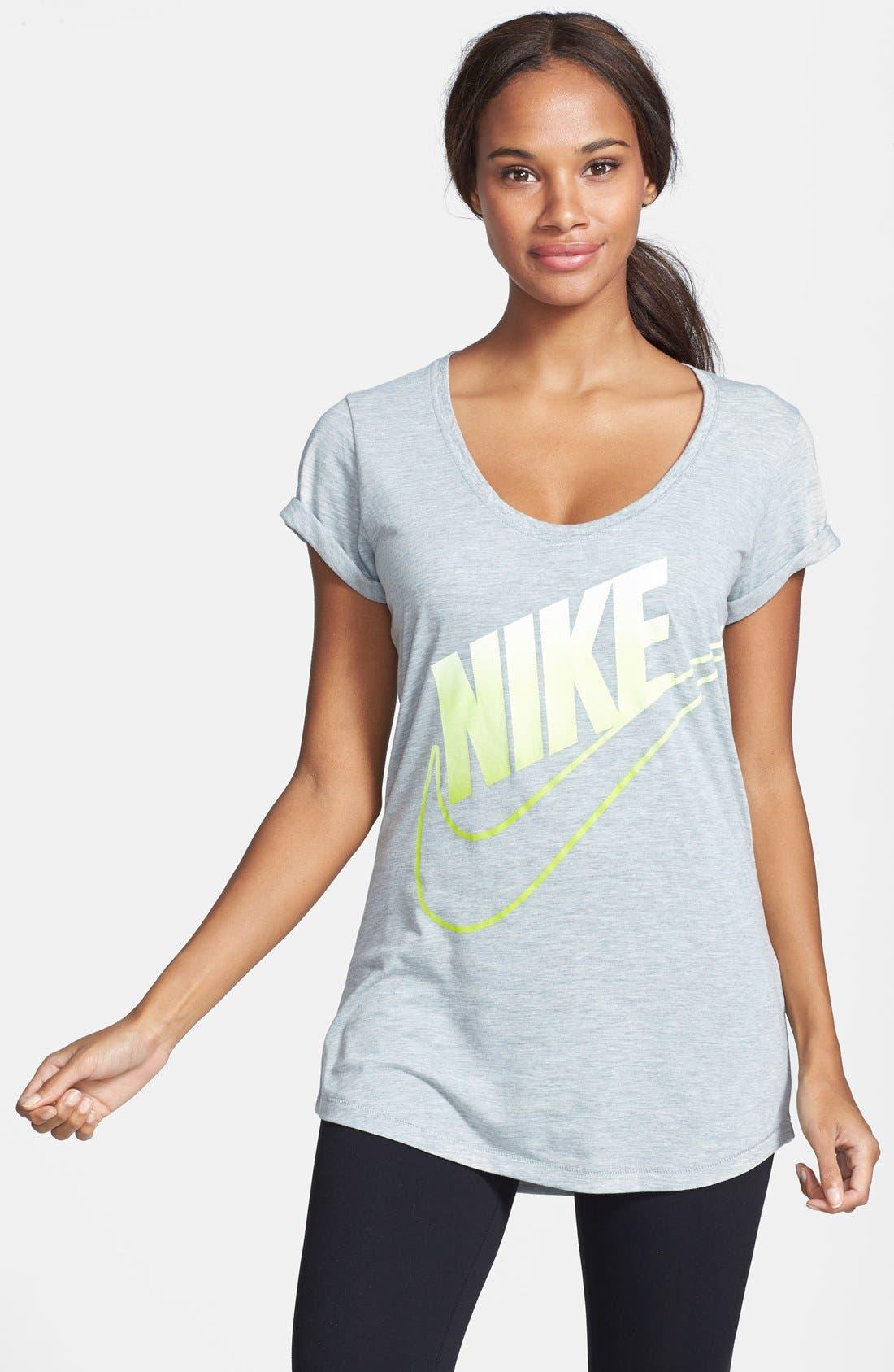Alternate Image 1 Selected - Nike 'Futura Fade 2' Tee