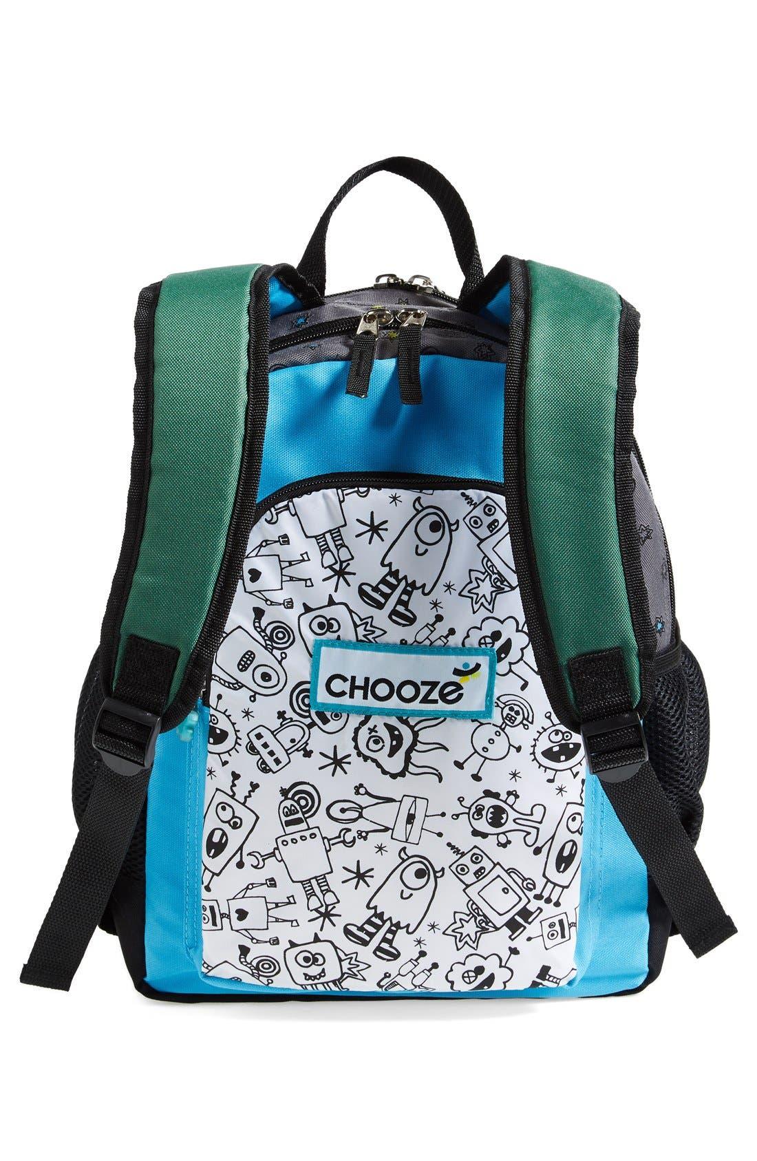 Alternate Image 4  - CHOOZE Reversible Backpack (Kids)