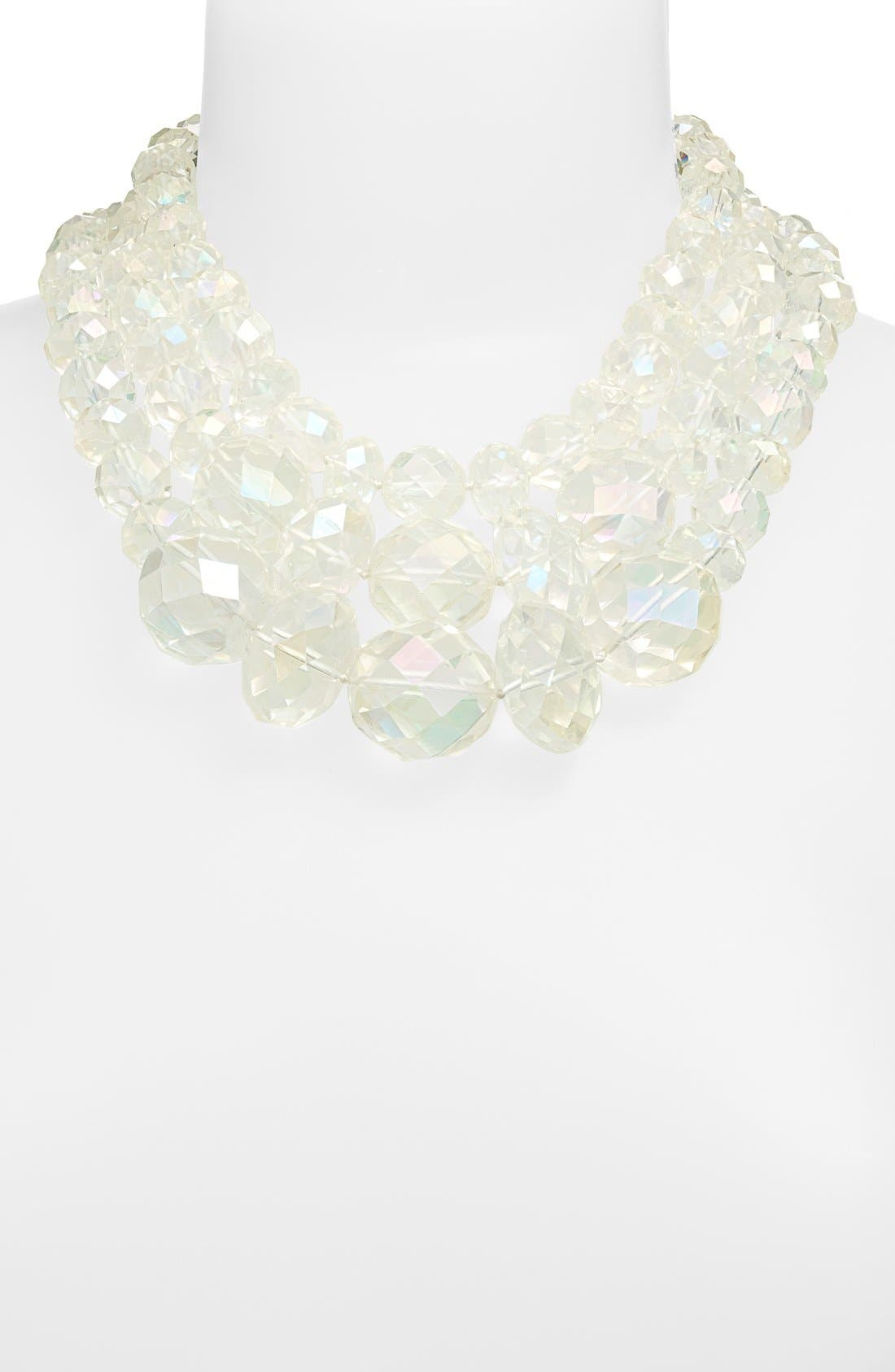 Alternate Image 2  - kate spade new york 'give it a swirl' statement necklace