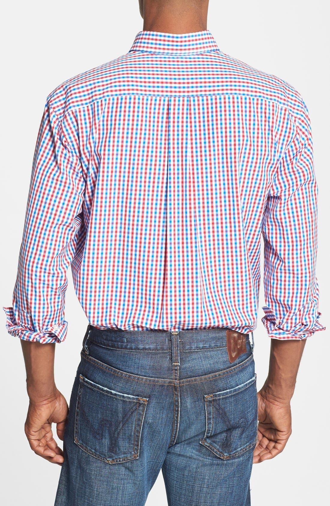 Alternate Image 2  - Vineyard Vines 'Tucker - Bailey's Bay' Classic Fit Tattersall Sport Shirt