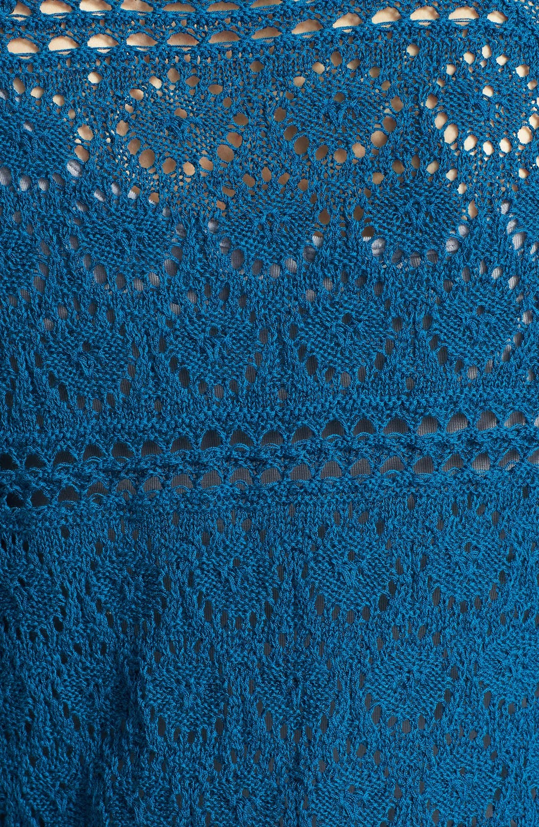 Alternate Image 3  - Lucky Brand 'Sapphire' Crochet Tunic