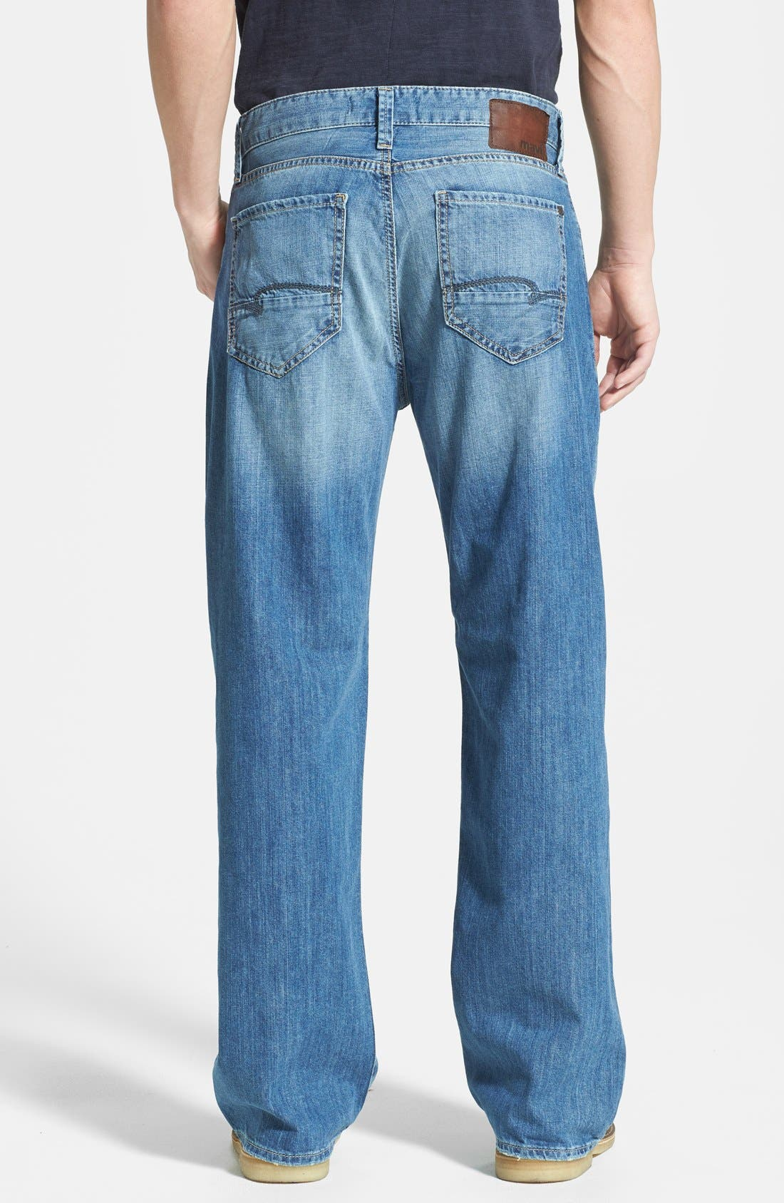 Alternate Image 2  - Mavi Jeans 'Max' Relaxed Fit Jeans (Used Summer)