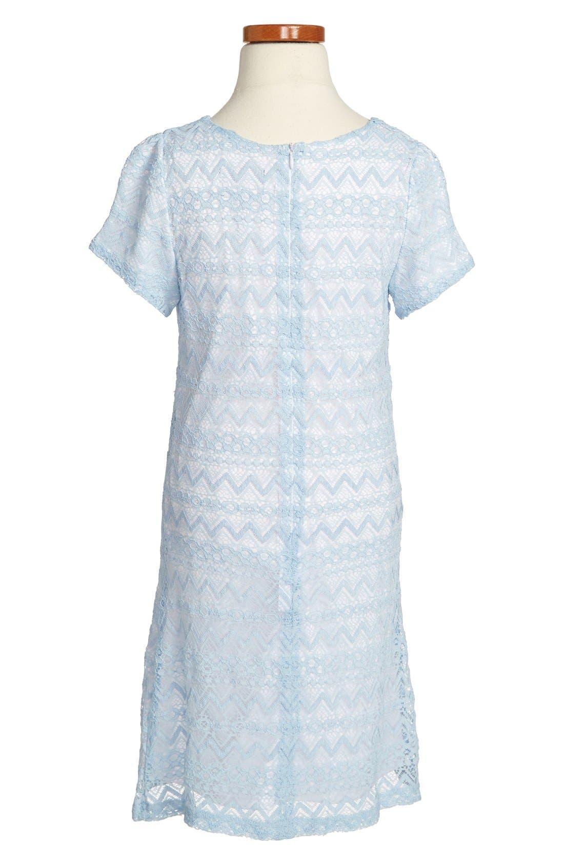 Alternate Image 2  - Laundry by Shelli Segal 'Lacey' Dress (Big Girls)