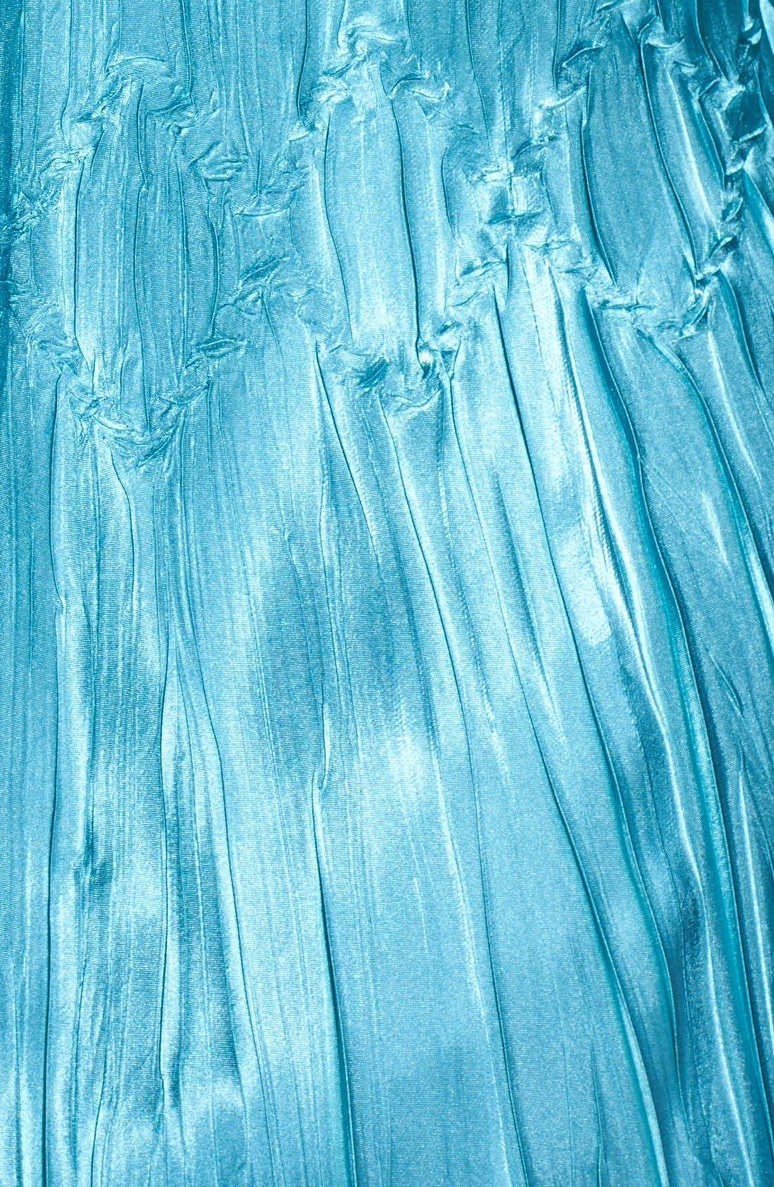 Alternate Image 4  - Komarov Chiffon & Charmeuse Dress with Jacket (Plus Size)