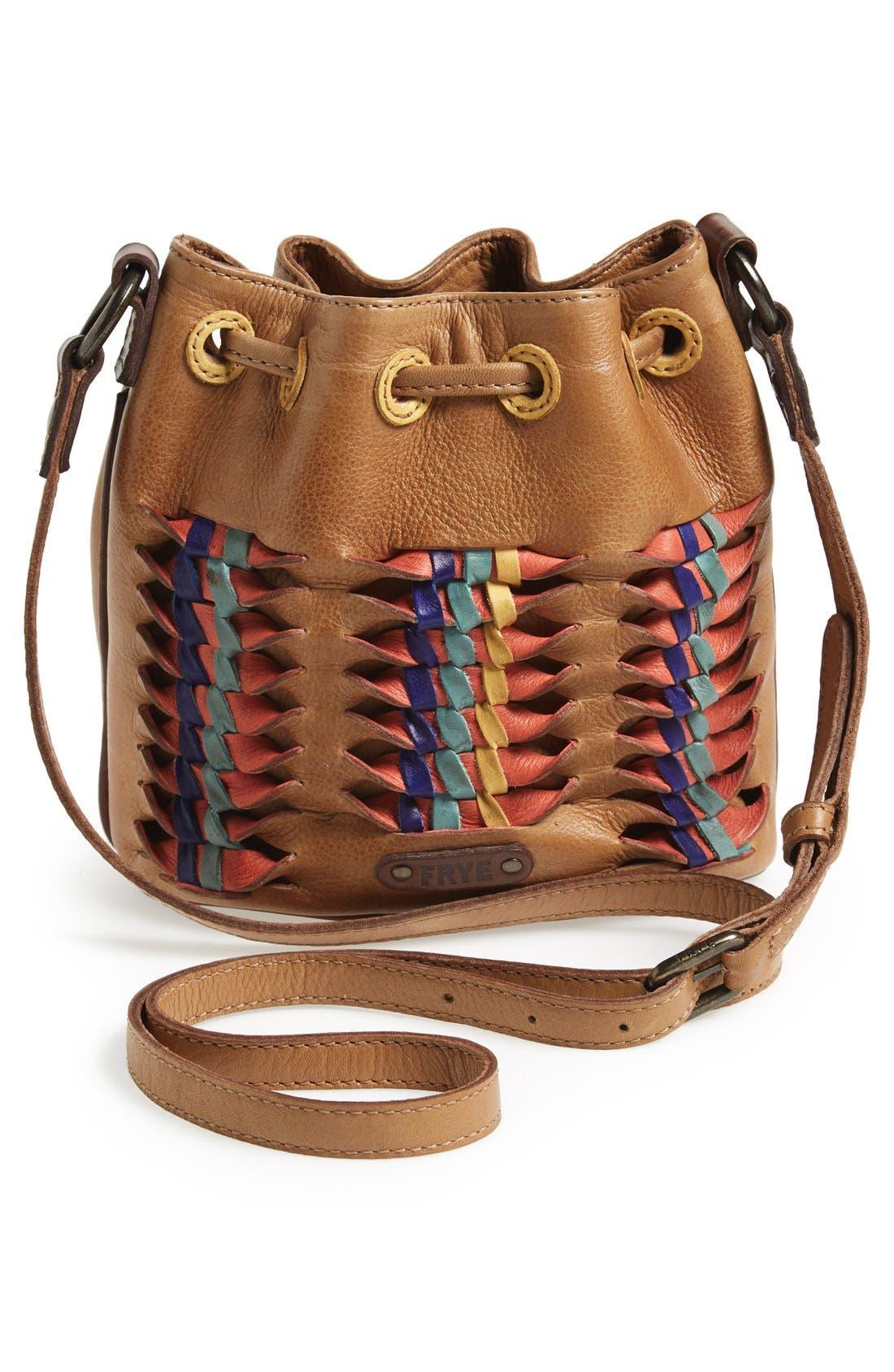Alternate Image 4  - Frye 'Heather' Leather Bucket Bag