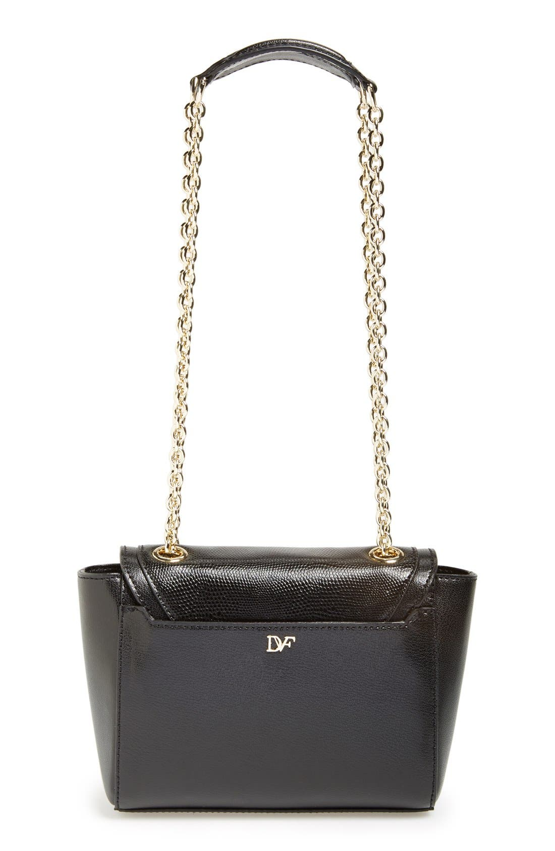 Alternate Image 4  - Diane von Furstenberg 'Mini 440' Leather Crossbody Bag