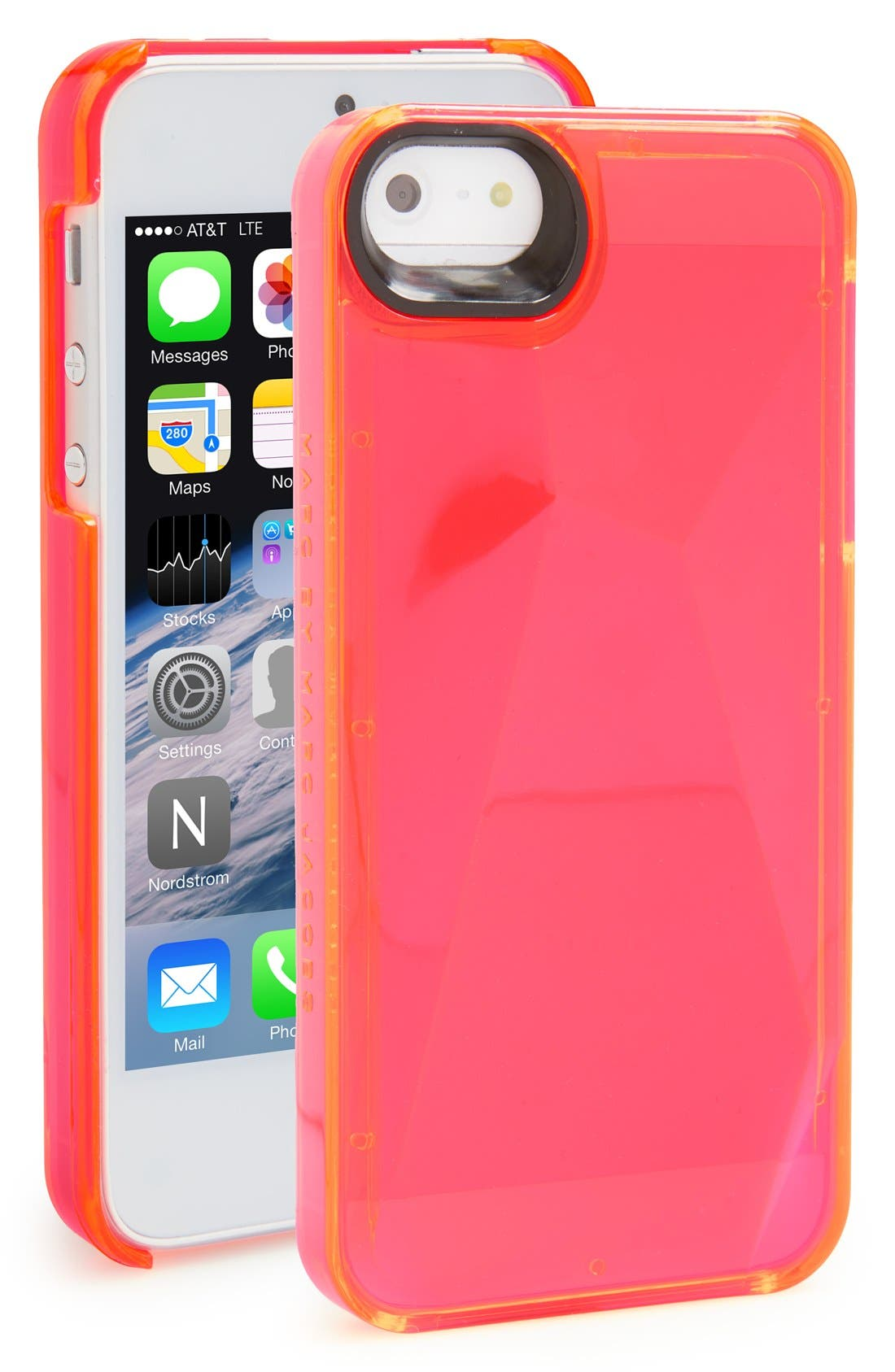 Alternate Image 1 Selected - MARC BY MARC JACOBS Faceted' iPhone 5 & 5s Case