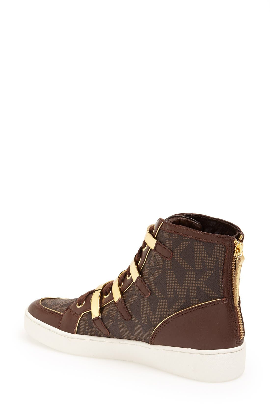 Alternate Image 2  - MICHAEL Michael Kors 'Kimberly' High Top Sneaker (Women)