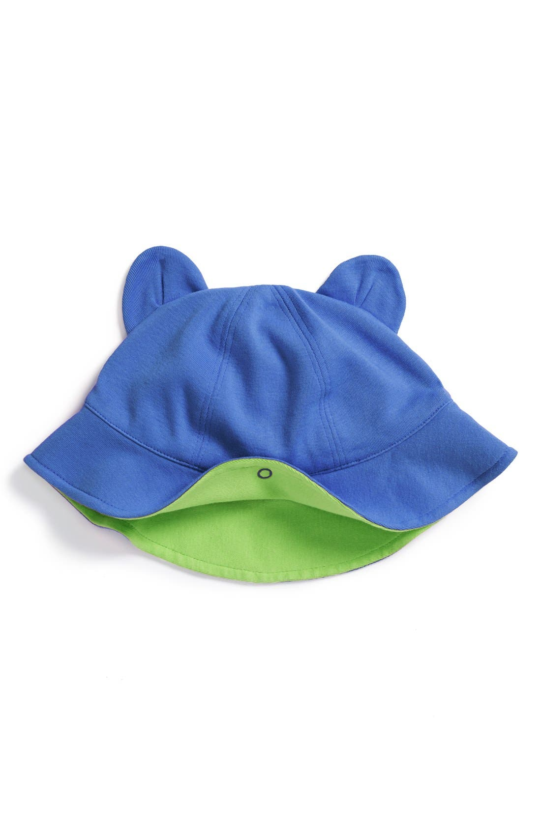 Alternate Image 1 Selected - Stem Baby Organic Cotton Ear Hat (Baby)