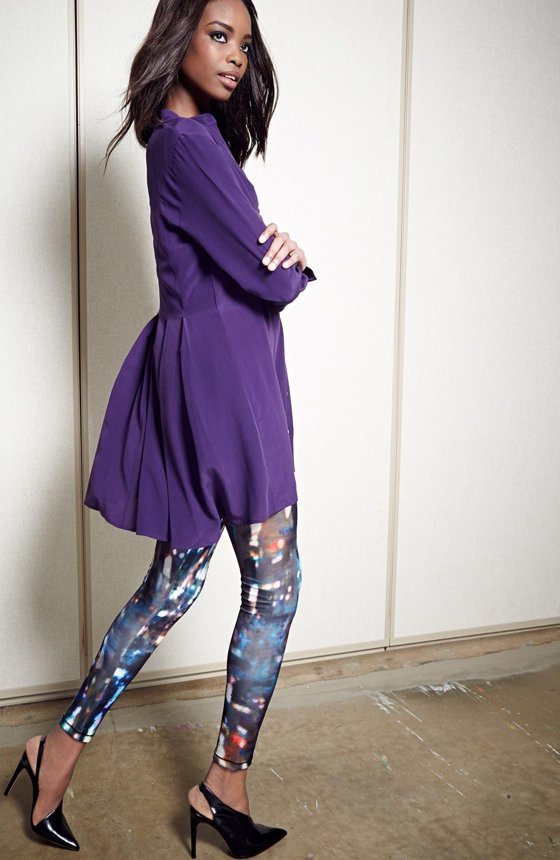 Alternate Image 3  - McQ by Alexander McQueen Silk Shirtdress