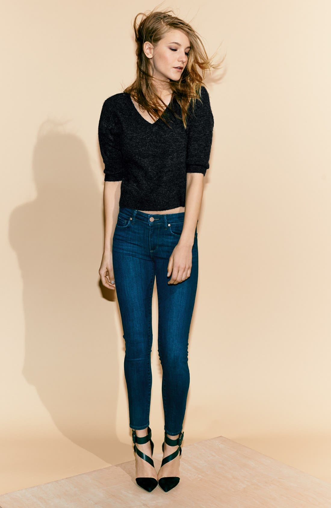 Alternate Image 8  - Paige Denim 'Skyline' Ankle Peg Skinny Jeans (Dixie) (Nordstrom Exclusive)