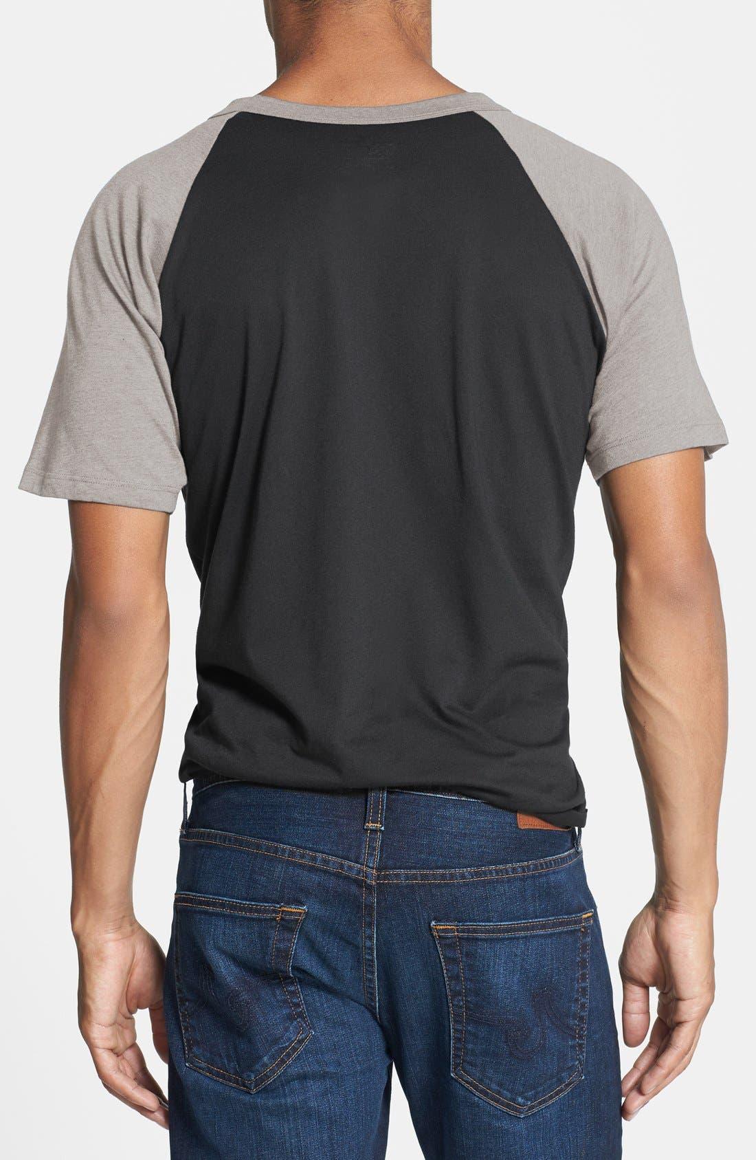 Alternate Image 2  - Mighty Fine 'Vader Broken Mask' Graphic T-Shirt
