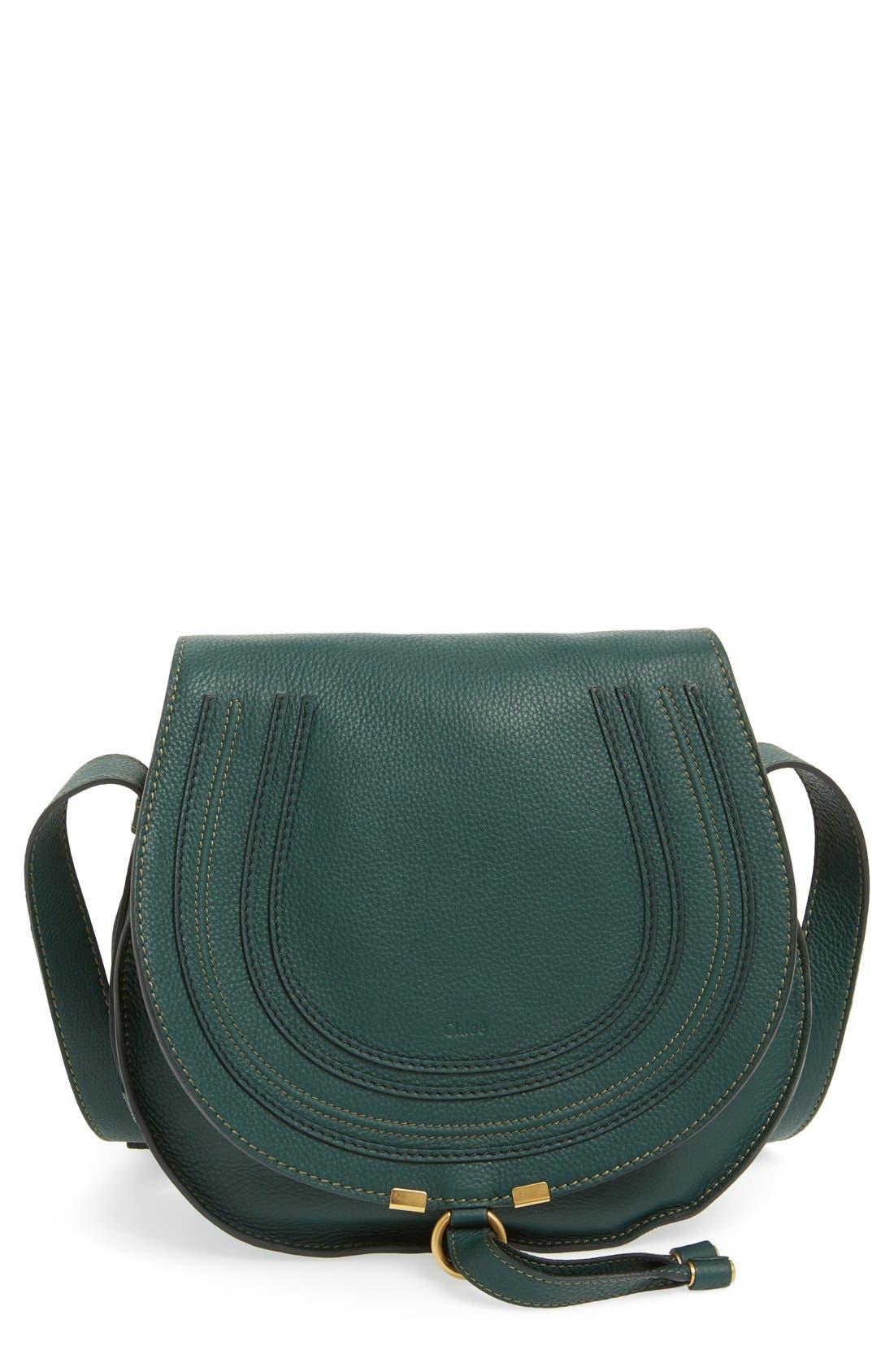 Main Image - Chloé 'Marcie - Medium' Leather Crossbody Bag