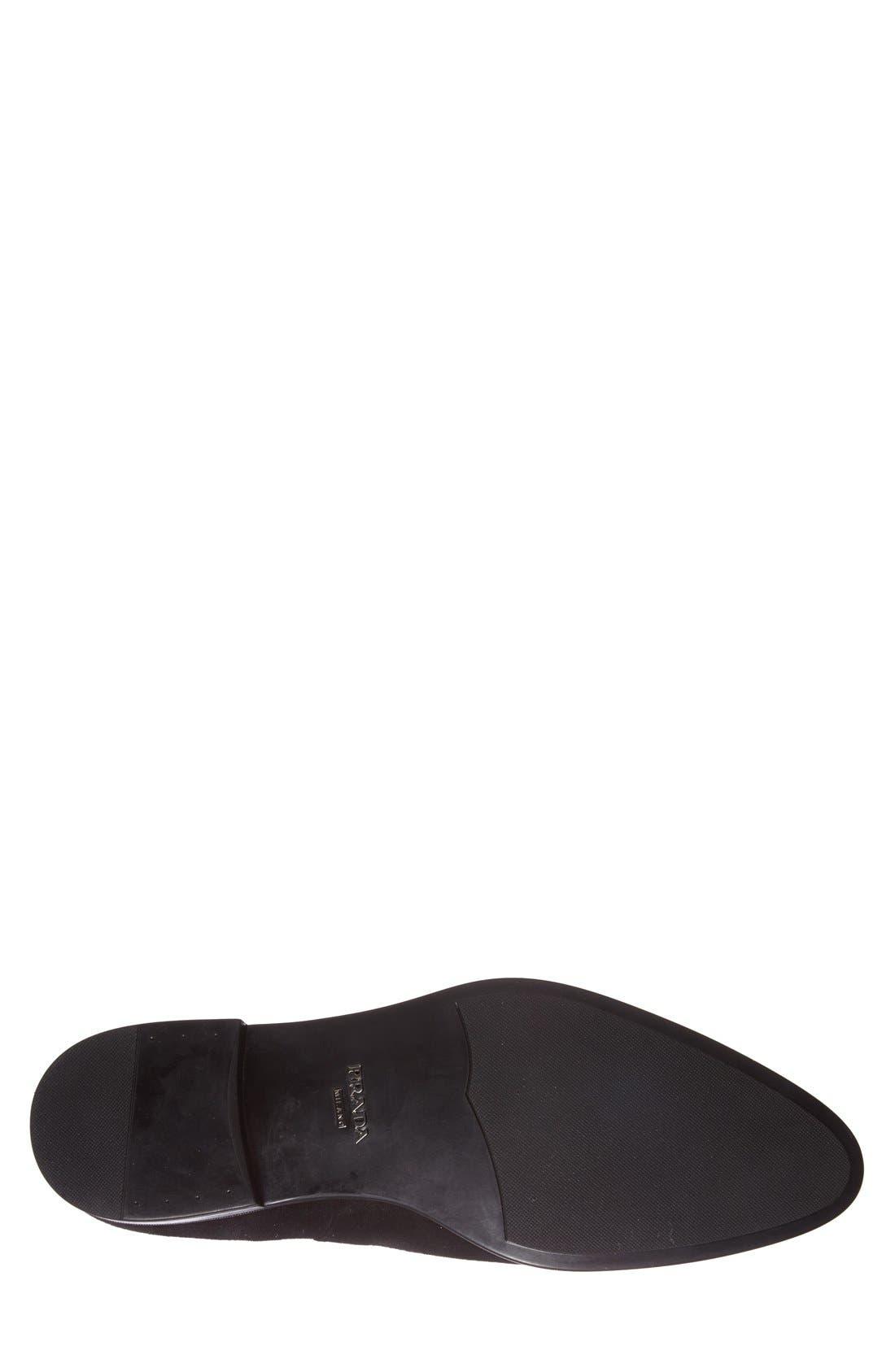 Alternate Image 4  - Prada Suede Chelsea Boot (Men)