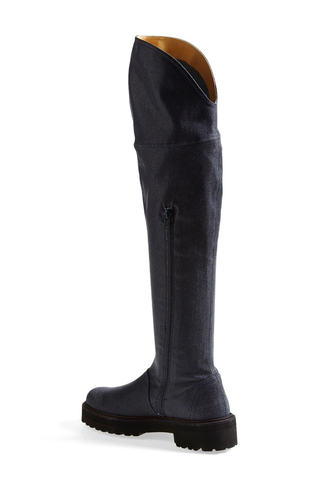 Alternate Image 2  - MM6 Maison Margiela Over the Knee Boot (Women)