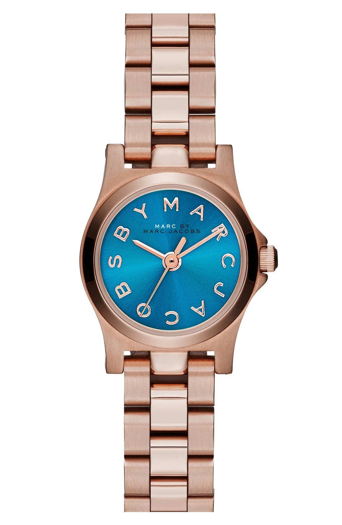 Alternate Image 1 Selected - MARC JACOBS 'Henry Dinky' Bracelet Watch, 20mm