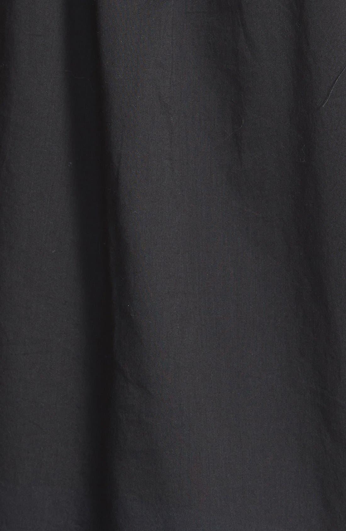 Alternate Image 3  - MICHAEL Michael Kors Eyelet Tie Front Cotton Peasant Top (Regular & Petite)