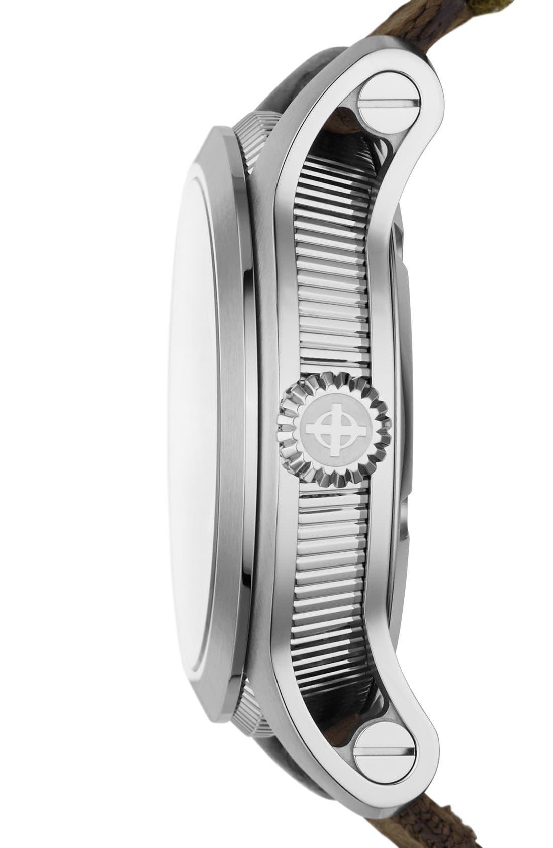 Alternate Image 3  - Zodiac 'Jet-O-Matic' Automatic Watch, 46mm
