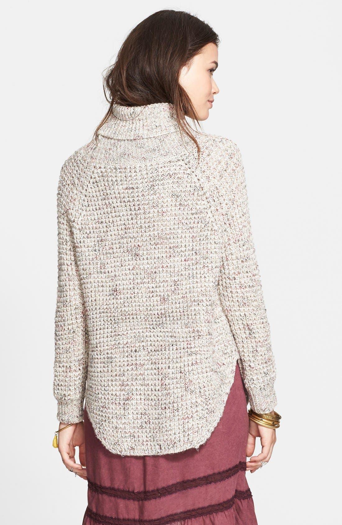 Alternate Image 2  - Free People Turtleneck Pullover