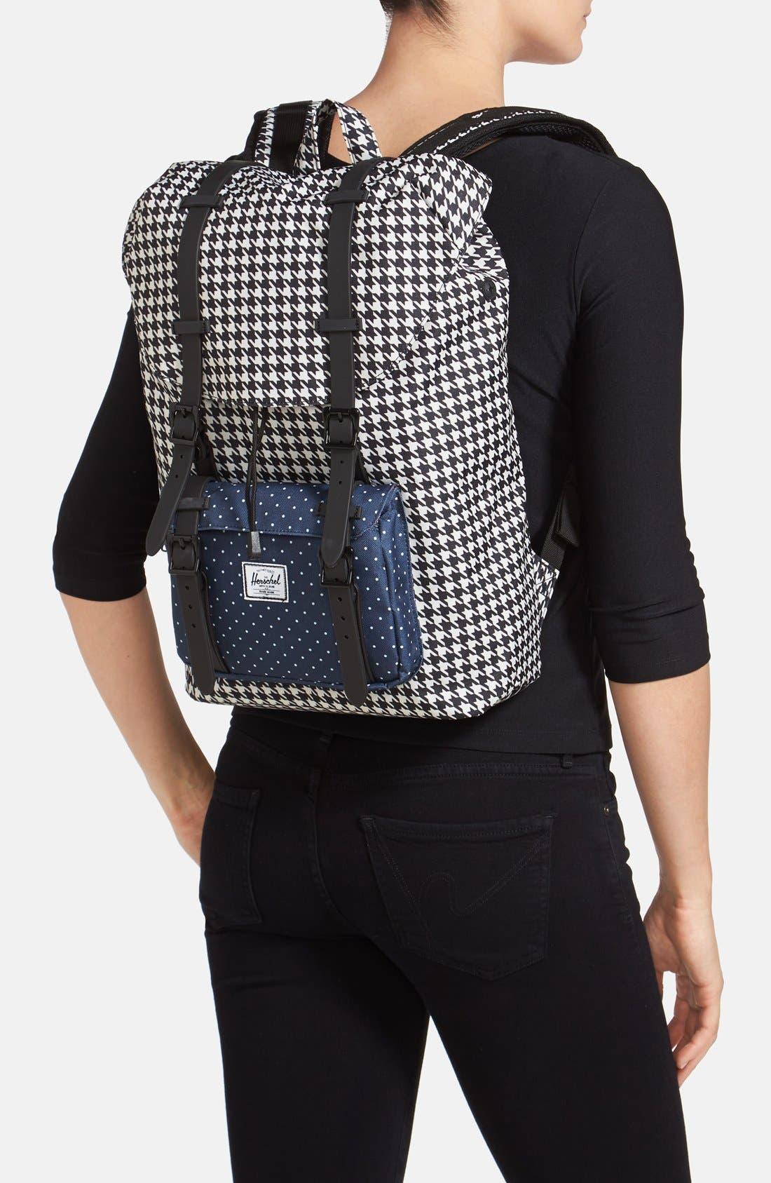 Alternate Image 2  - Herschel Supply Co. 'Little America - Medium' Canvas Backpack
