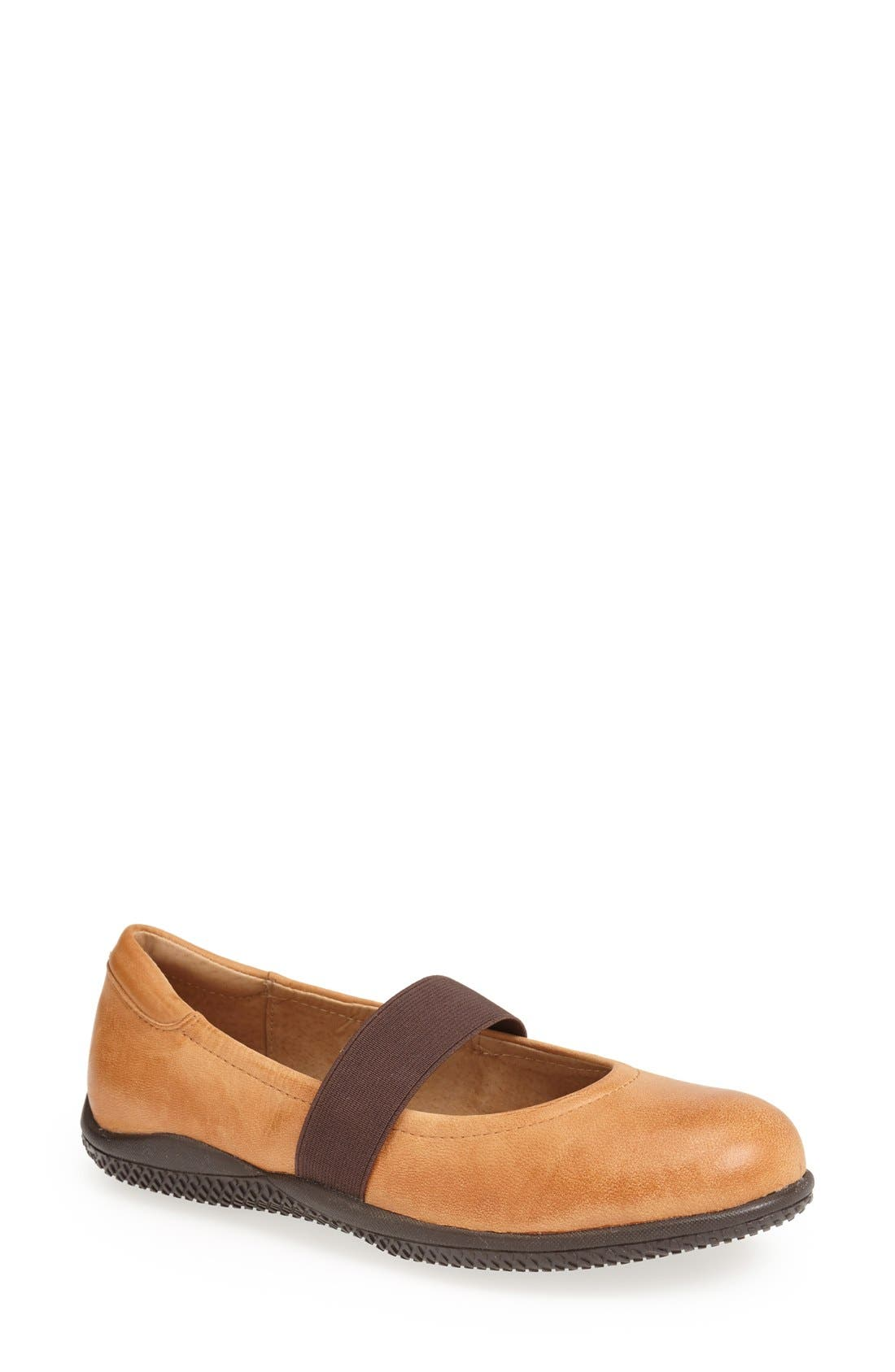 Alternate Image 1 Selected - SoftWalk® 'High Point' Mary Jane Flat (Women)