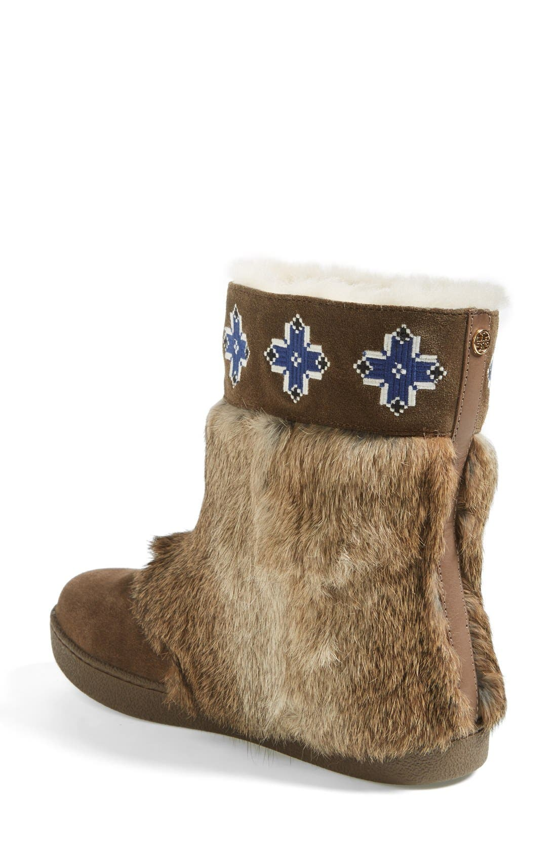 Alternate Image 2  - Tory Burch 'Lafayette' Embroidered Bootie