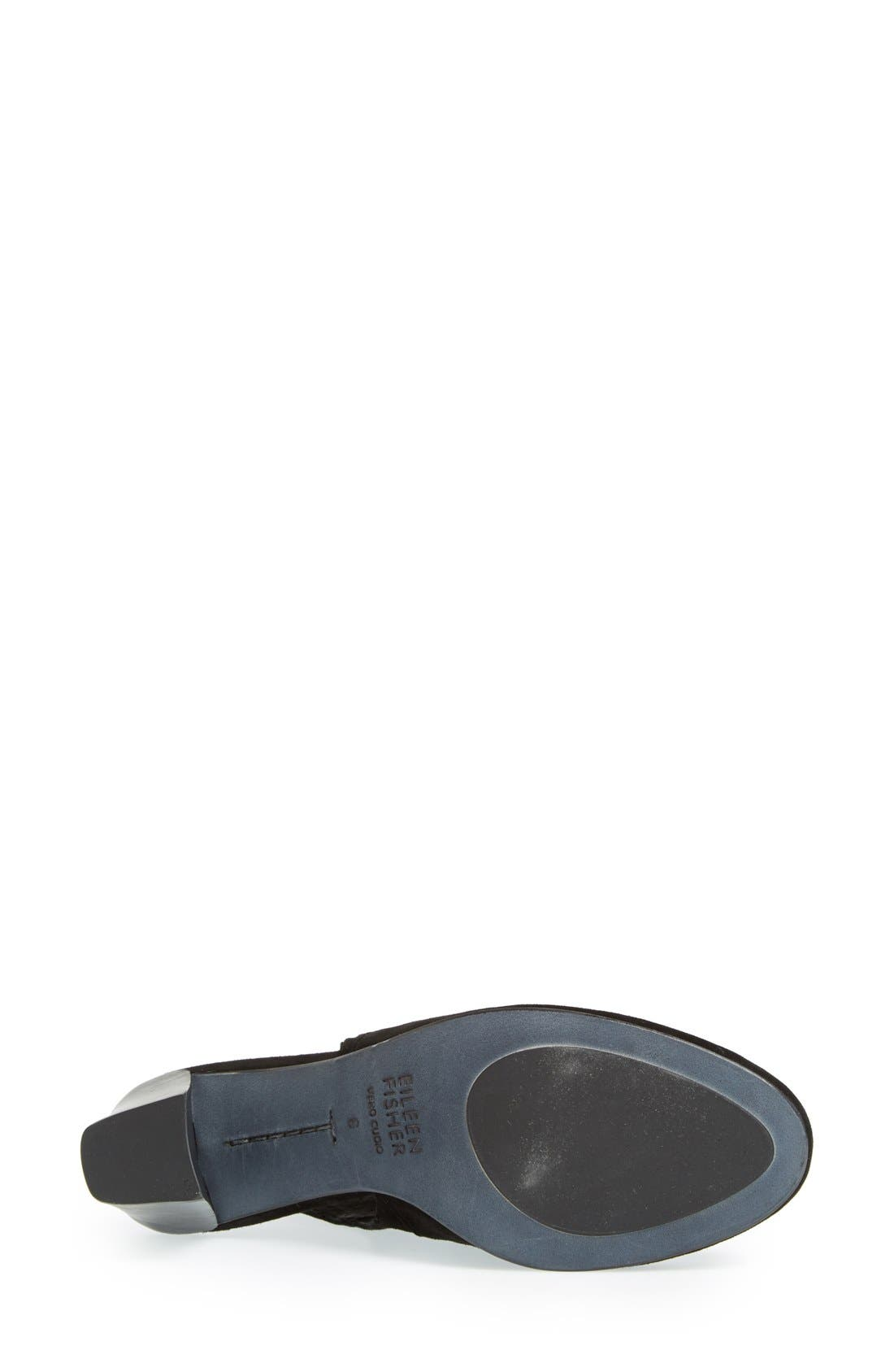 Alternate Image 4  - Eileen Fisher 'Ideal' Cutout Bootie (Women) (Online Only)