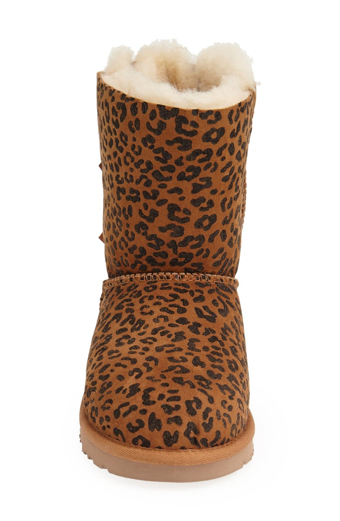 Alternate Image 3  - UGG® Australia 'Bailey Bow' Boot (Walker, Toddler, Little Kid & Big Kid)