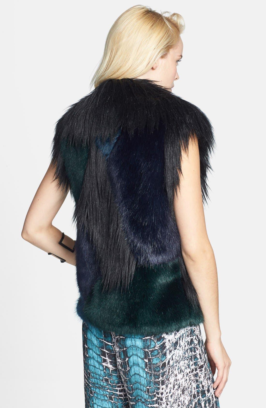 Alternate Image 2  - BLANKNYC Faux Fur Vest