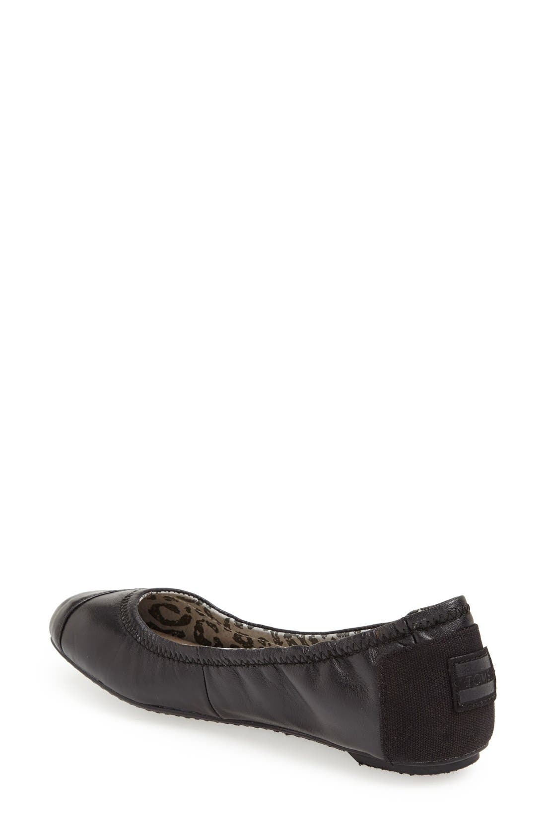 Alternate Image 2  - TOMS 'Camila' Ballet Flat (Women)