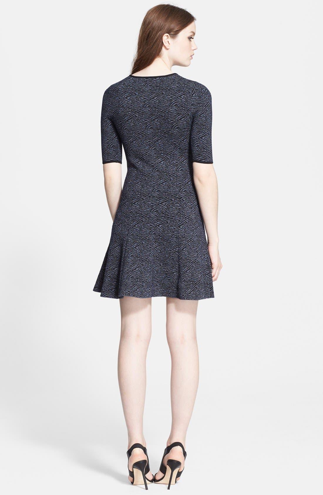 Alternate Image 2  - A.L.C. 'Deele' Jacquard Knit Dress