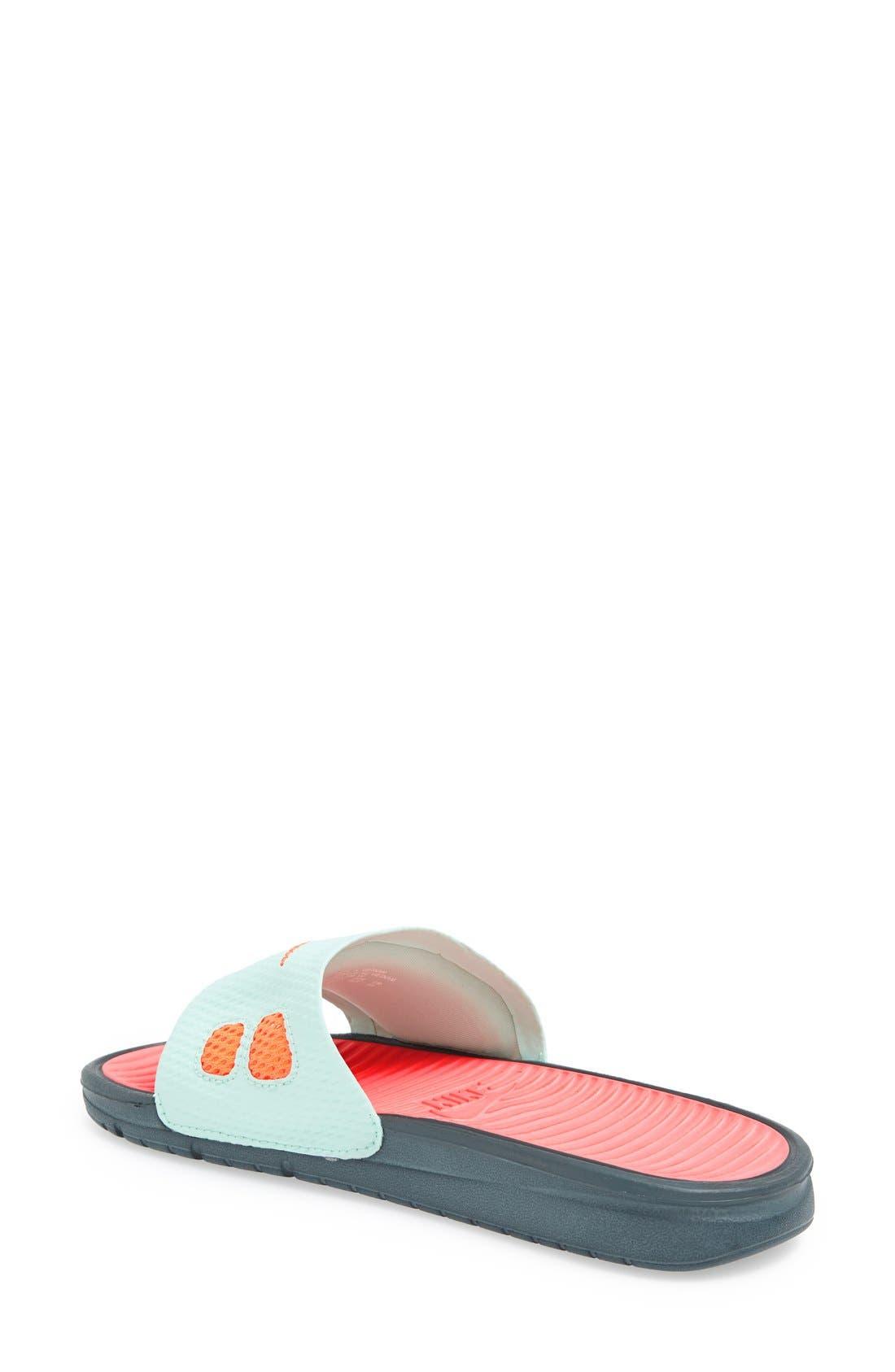 Alternate Image 3  - Nike 'Benassi - Solarsoft' Slide Sandal (Women)
