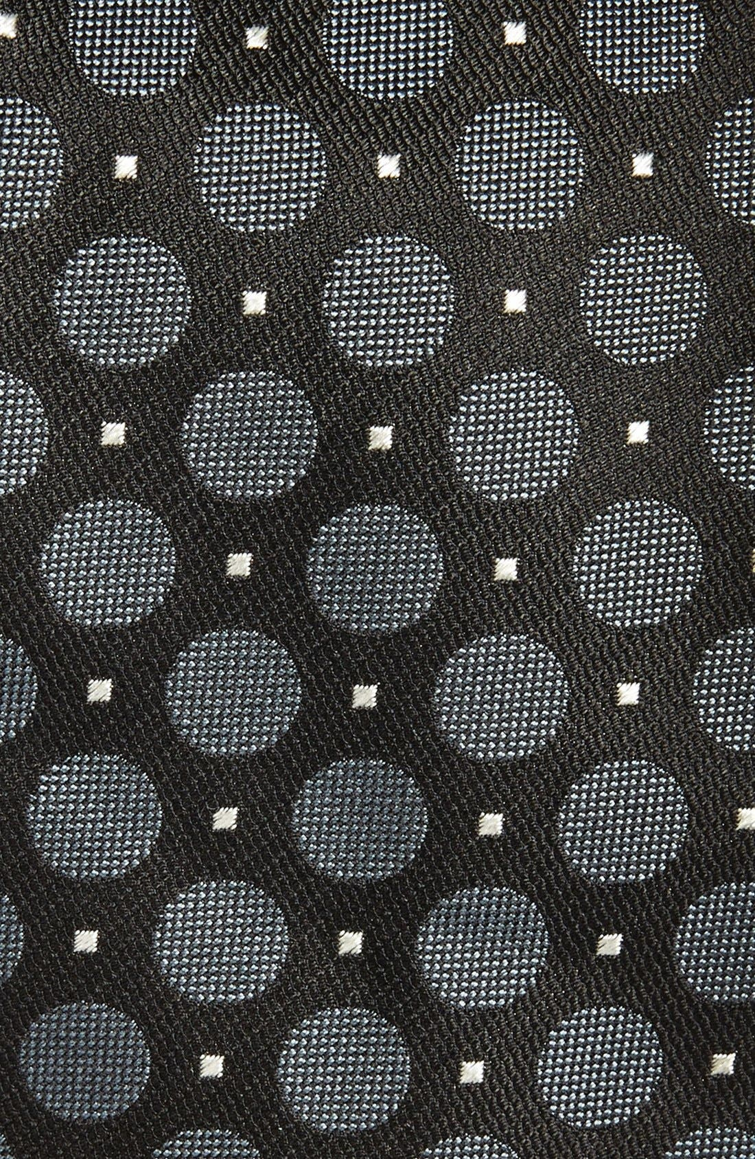 Alternate Image 2  - Canali Dot Woven Silk Tie