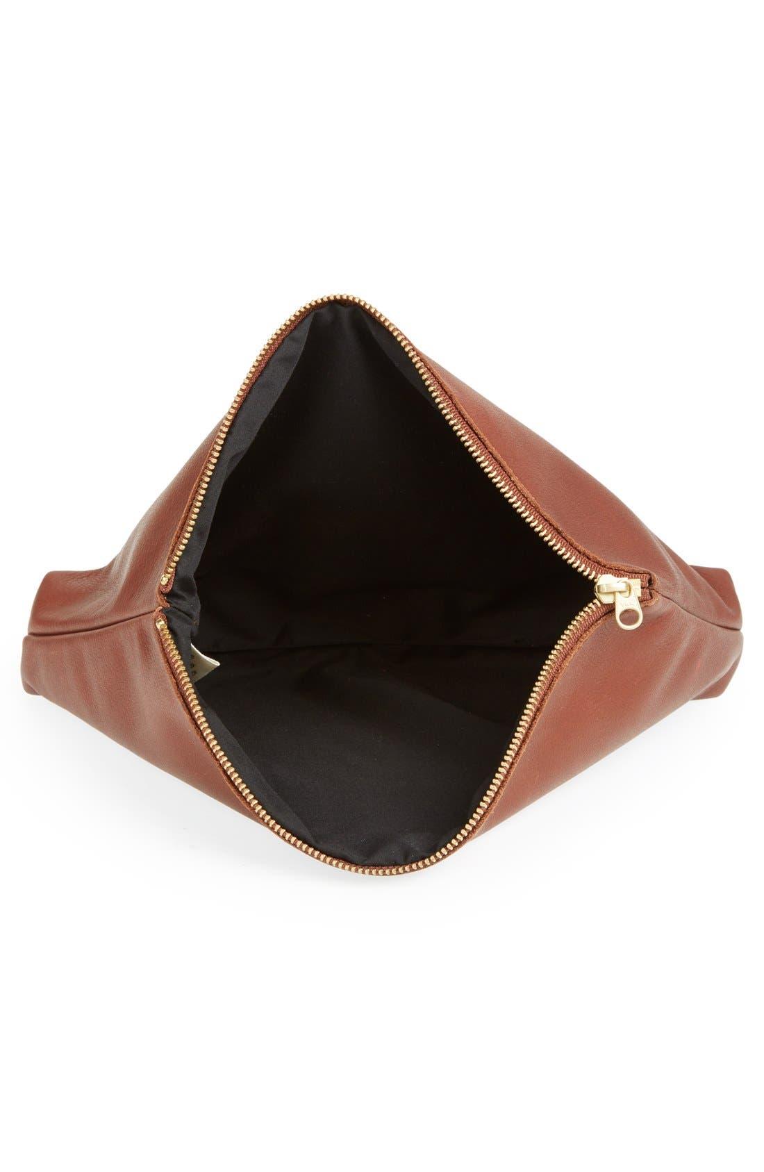 Alternate Image 3  - Baggu® Leather Clutch