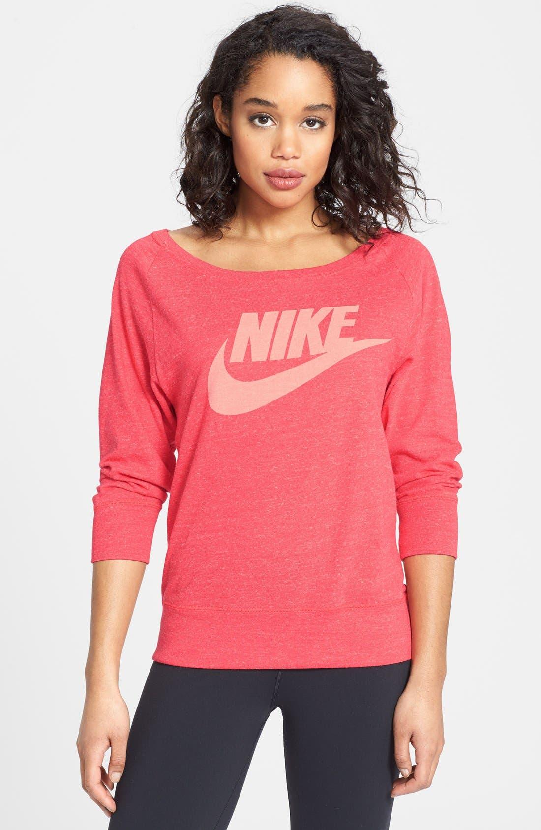 Alternate Image 1 Selected - Nike 'Gym Vintage' Tee