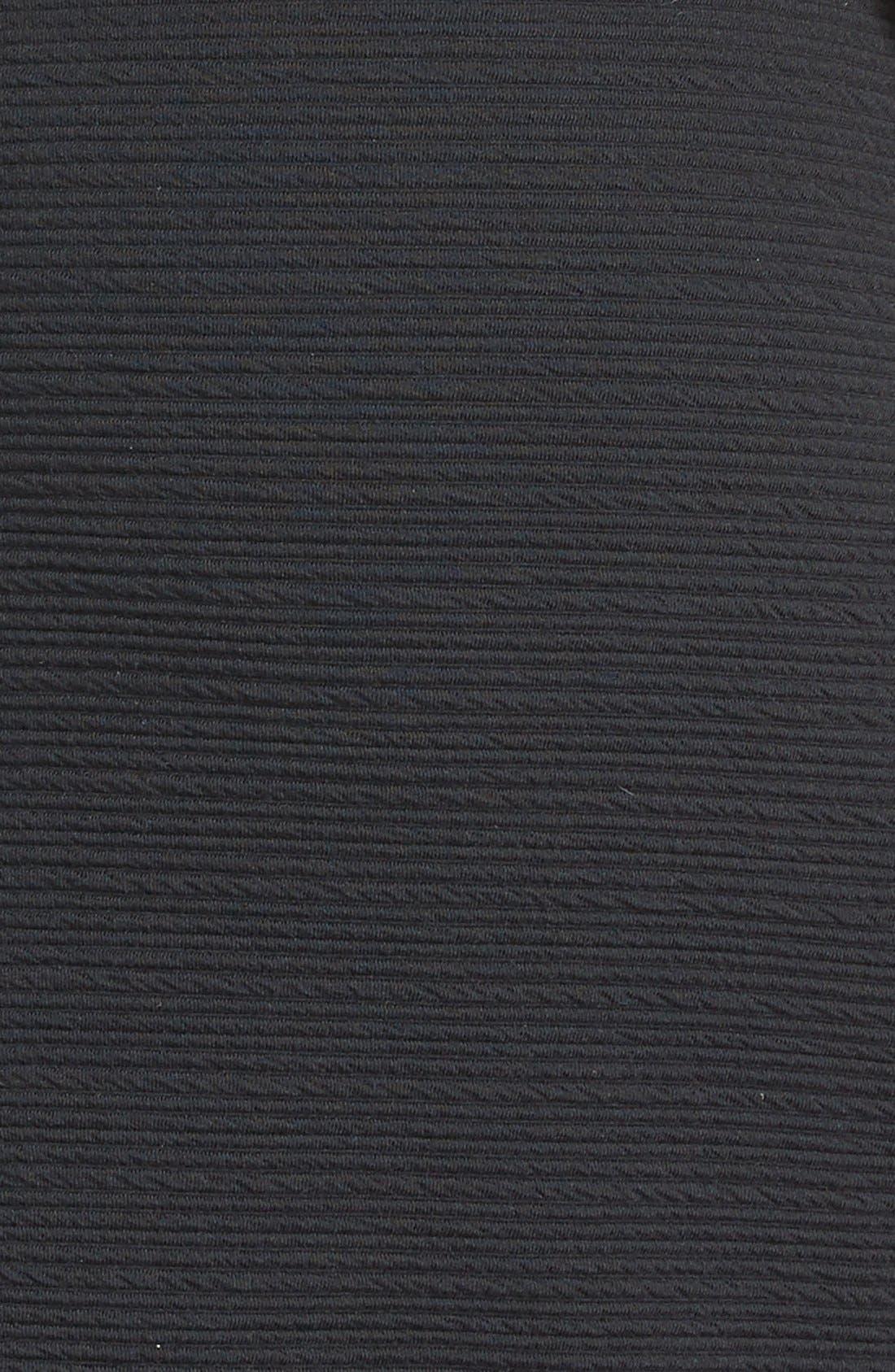 Alternate Image 4  - BB Dakota 'Oleta' Textured Turtleneck Body-Con Dress