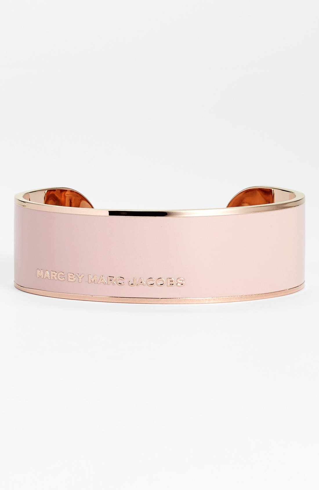 Alternate Image 1 Selected - MARC BY MARC JACOBS Logo Cuff