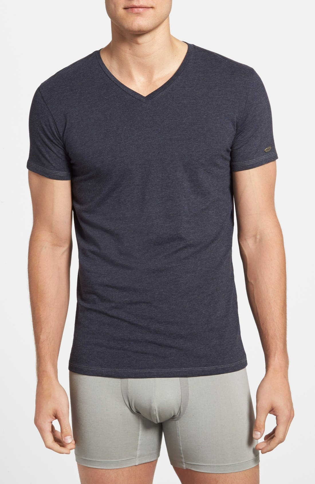 Alternate Image 1 Selected - DIESEL® 'Michael' V-Neck Undershirt