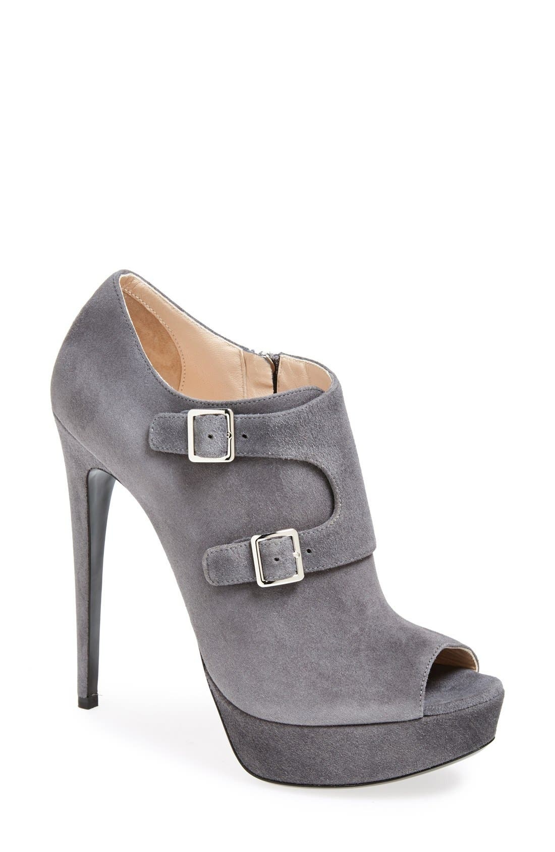 Alternate Image 1 Selected - Prada Monk Strap Bootie (Women)