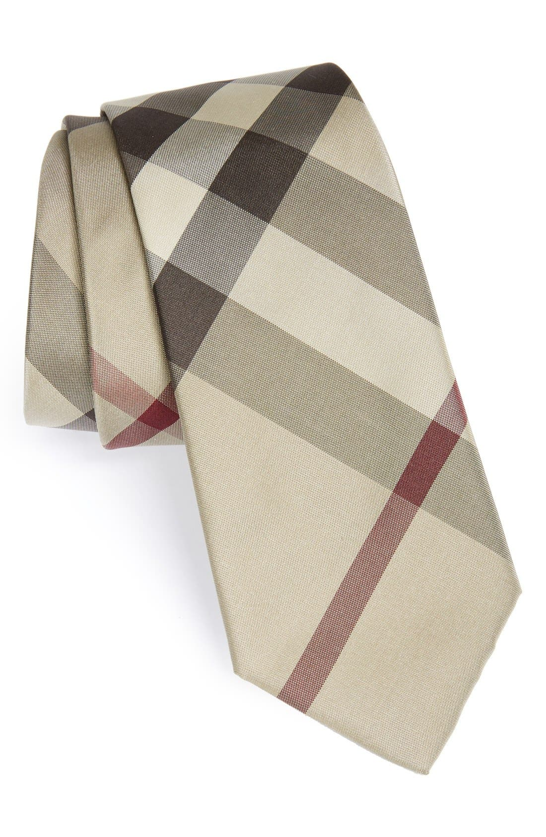 Alternate Image 1 Selected - Burberry London 'Rohan' Woven Silk Tie