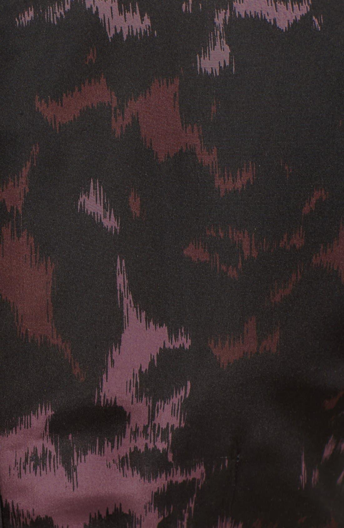 Alternate Image 3  - Burberry London Print Mulberry Silk Fit & Flare Dress
