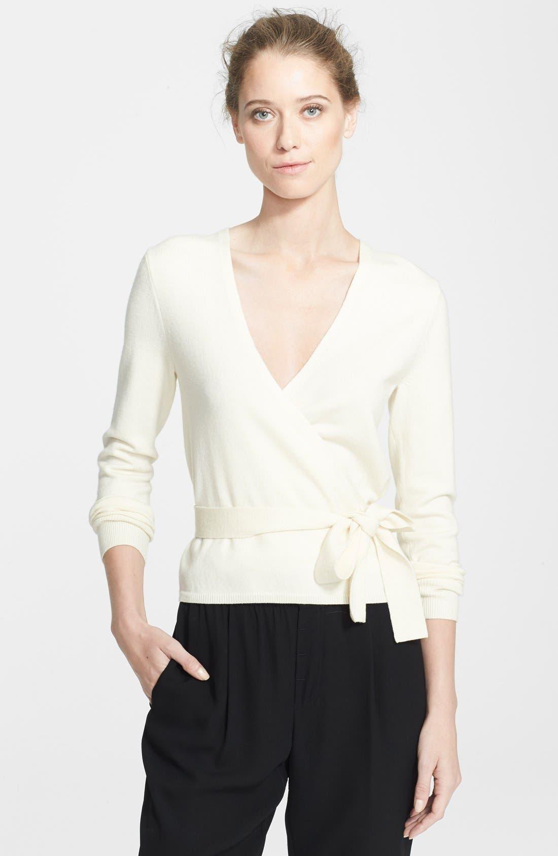 Alternate Image 1 Selected - Diane von Furstenberg 'Ballerina' Cardigan Sweater