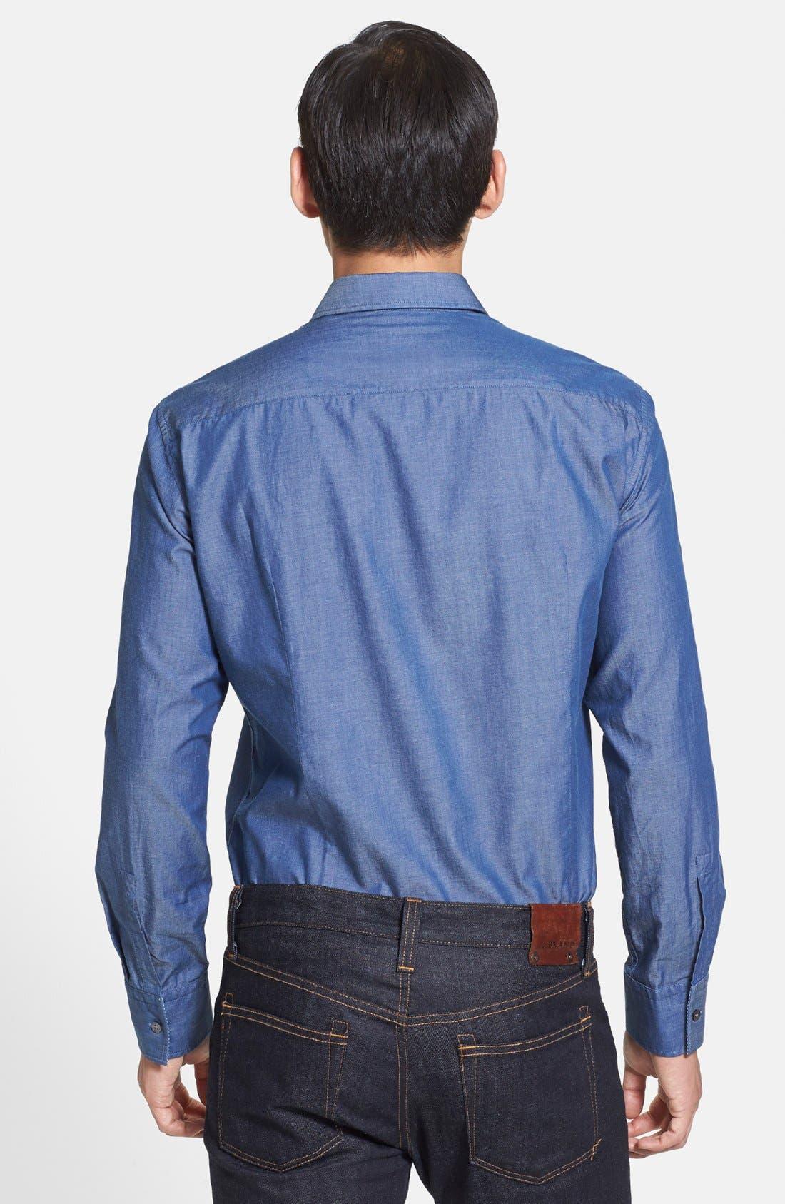 Alternate Image 2  - BOSS HUGO BOSS 'Robbie' Slim Fit Sport Shirt